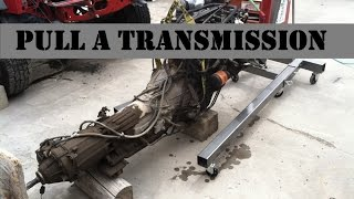 How to Pull An XJ Cherokee Transmission (Bleepinjeep Reference Video)(This week I'll show you how I like to pull a transmission and transfercase out of a Jeep Cherokee XJ. I hope this will be a reference video for you guys when you ..., 2016-05-20T23:00:00.000Z)
