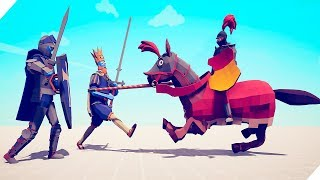 TABS - ФЕРМЕР И РЫЦАРИ против МЕНЯ - Totally Accurate Battle Simulator. Табс