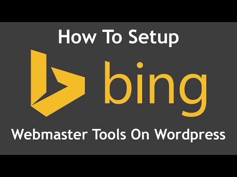 How to setup Bing Webmaster Tools on your Wordpress website
