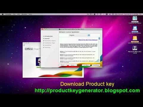 Office Mac 2011 Product Key