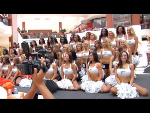 2011 Dolphins Cheerleader Auditions