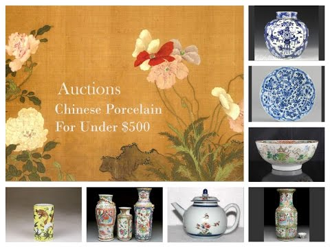 Buying Antique Chinese Porcelain Under $500 Song to Qing