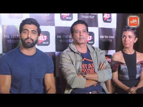 Bollywood Film News 2018 :  Interview Of The Cast Of Web Series The Test Case