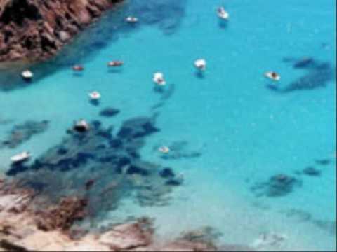 Spiagge Isola di Spargi a La Maddalena (Sardegna)