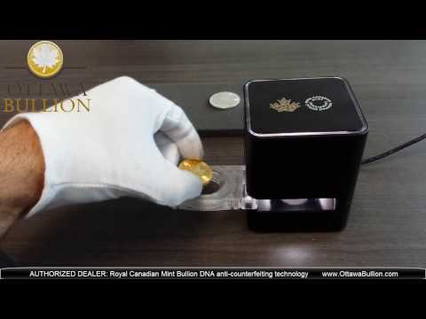 Royal Canadian Mint Bullion DNA Dealer OttawaBullion.com