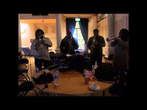 Massive Waves of Britfunk Rehearsals & Soundchecks Apr 13th 2013 by Jen Jenny B