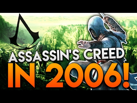 ASSASSIN'S CREED 2006 GAMEPLAY! | X06 Assassin's Creed Gameplay Demo