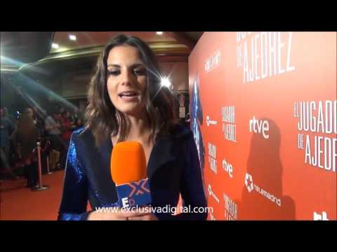 Melina Matthews, novia Raul Arevalo, protagoniza El Jugador de Ajedrez