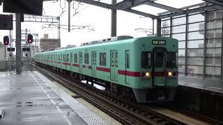 西鉄6000形 6004F 大善寺行普通 花畑駅