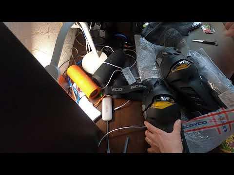 Мото наколенники Scoyco K17 и перчатки MC 82, открываем посылку с Китая. Качественный китайский экип