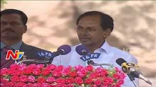 Cm Kcr Independence Day Full Speech At Golconda Fort | 69th Independence Day | Exclusive