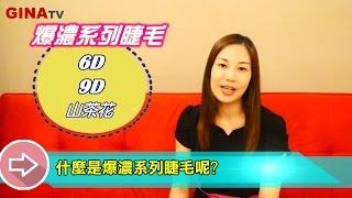GinaTV - 什麼是3D睫毛?6D睫毛?9D睫毛?山茶花?《客戶常問》