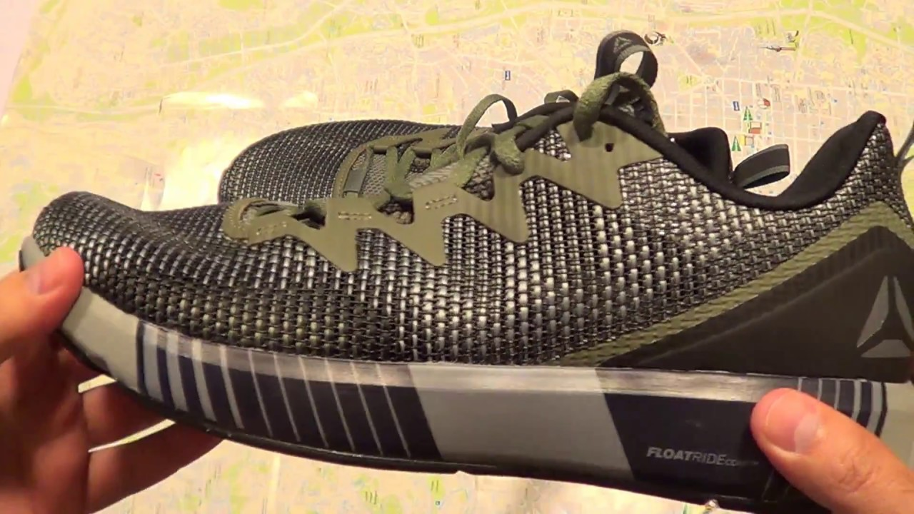 Reebok Fusion Flexweave (English review) - YouTube d2d0c9c71