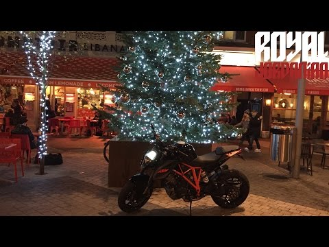 London Lights on a KTM 1290 Super Duke R