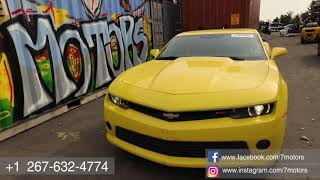 2015 Chevrolet Camaro. Утопленник. 7motors — Авто И Машинокомплекты С Аукционов Сша