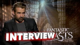 Fantastic Beasts: Collin Farrell Exclusive Interview