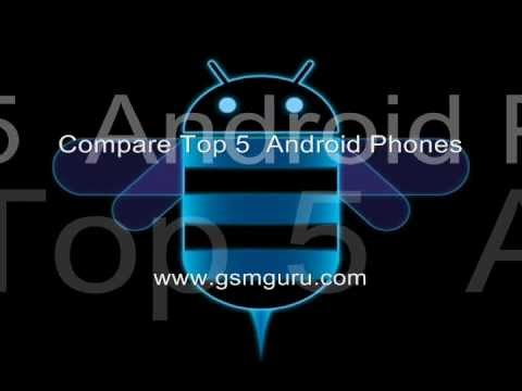 Top 5 Best Android Phones - 2011