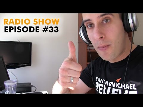 Setting routines, paying rent, business on a loan, starting from scratch  - Radio Show #33