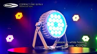 Showtec Compact Par 18 MKII. Productcode: 42592.