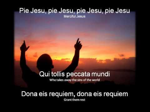 Pie Jesu Lyrics