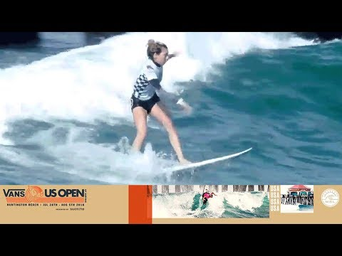 Fitzgibbons Vs. Peterson Vs. Ho - Round Three, Heat 3 - Vans US Open Of Surfing - Women's CT