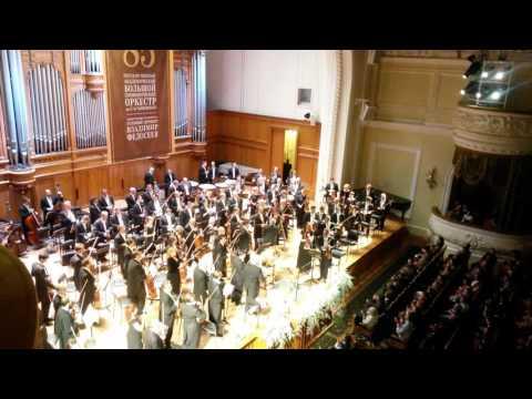 85 лет БСО. Вл.Федосеев. Аплодисменты. Applause. Vladimir Fedoseyev. 85 years the orchestra.
