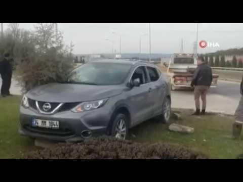 Midibüs ile Otomobil Çarpıştı: 11 Yaralı
