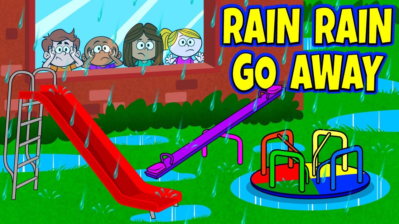 Rain Rain Go Away Nursery Rhyme With Lyrics Nursery Rhymes Kids Songs By The Learning Station Youtube