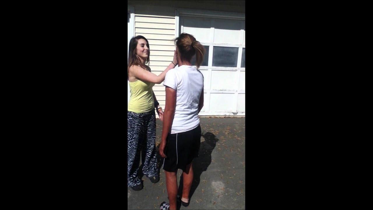 Slapped slave