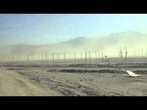 Severe Dust Storm In Hemet, CA
