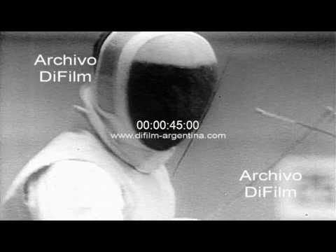 Esgrima con Florete - Fencing men