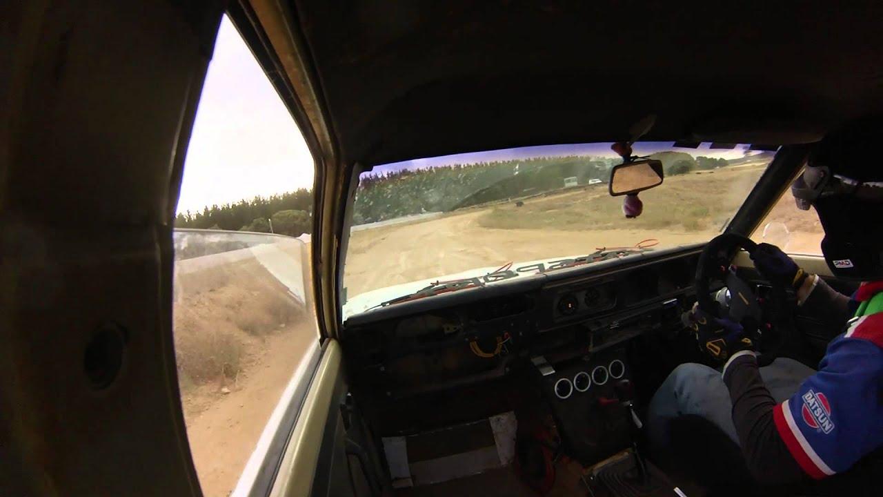 datsun 180b with l20b twin dcoe weber seac autocross 23 3
