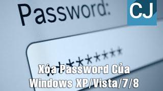 [TUT] - Xóa Password Của Windows XP/Vista/7/8 - ChenJi Production