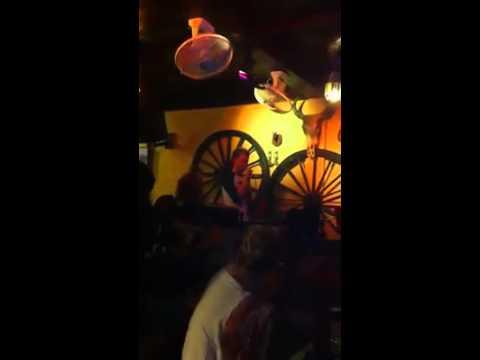 Against All Odds - Karaoke in Thailand (Krabi), Longhorn Saloon