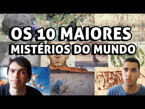 OS 10 MAIORES MISTÉRIOS DO MUNDO