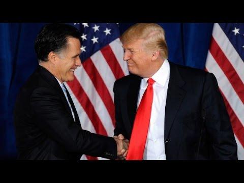 Trump responds to Romney tax return 'bombshell'...