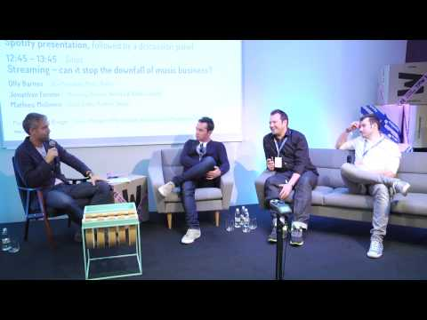 """Streaming -- can it stop the downfall of music business?"" - Tallinn Music Week 2014 seminars"