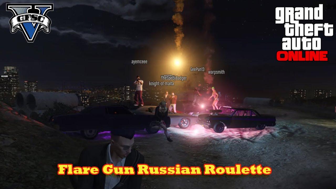 how to get a flare gun in gta 5 offline