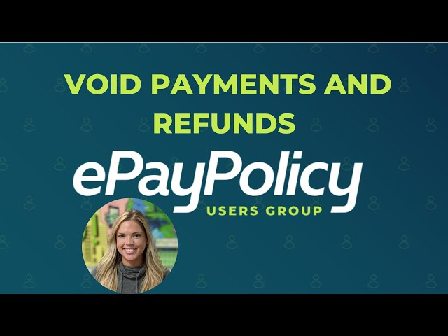 VOID PAYMENTS AND REFUNDS (tutorial): How you can void payments or send refunds