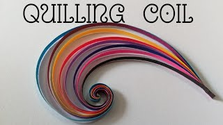 How To Make  Quilling  Scrolls  / Swirls