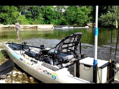 CATCHING SMALL MOUTH On The WHOPPER PLOPPER  || LITTLE PIGEON RIVER ||  TRIP #2