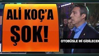 Antalya'da Ali Koç'a şok soru!