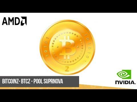 Майнинг BTCZ на AMD и Nvidia