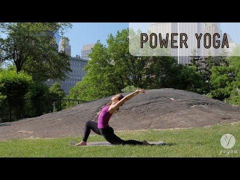 Power Yoga Routine: Inner Fortitude (intermediate level)