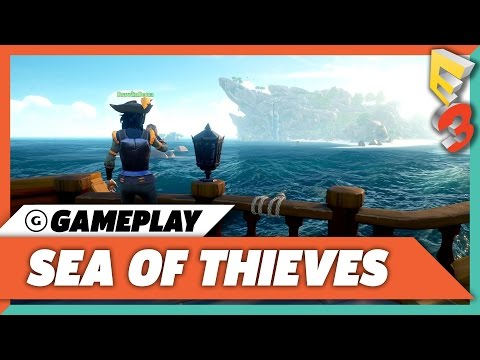 Sea Of Thieves Treasure Hunting Gameplay  E3 2017 Microsoft Press Conference