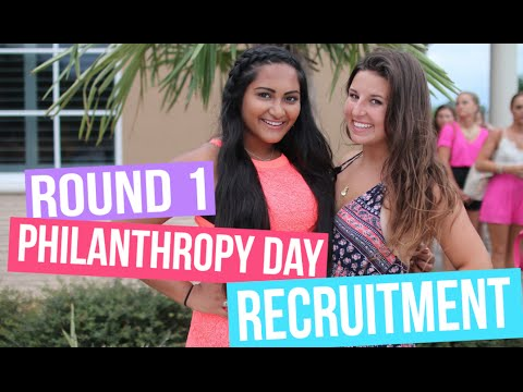 Round One, Philanthropy Day | UCF Sorority Recruitment