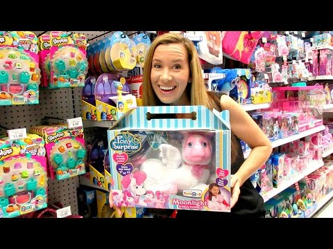 TOY HUNTING SHOPPING Ep.49 - Pony Surprise, DigiDinos, Shopkins, & Games