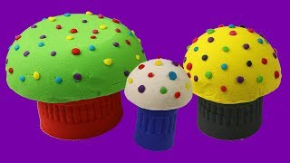 DIY Learn Colors For Kids Kinetic Sand Play Doh Slime Education Creative Video Toys Coloring Drawing