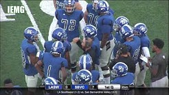 LIVE FOOTBALL! LA Southwest vs. San Bernardino Valley (9-22-18) @ City of San Bernardino, CA.