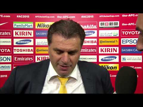 Post match Interview  - Ange Postecoglou (Coach, Australia) HD